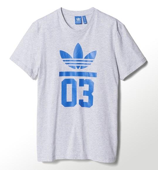 NAM-Áo thể thao Adidas xám khói 03 xanh