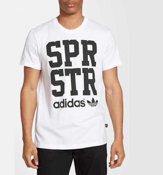 NAM-Áo thể thao Adidas trắng spr