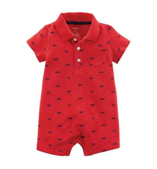 BT-Bộ Body đùi Carters/Child of Mine đỏ xe