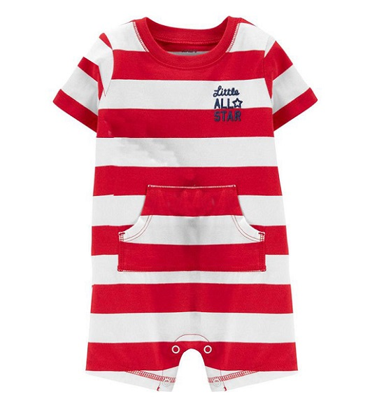 BT-Bodysuit đỏ little