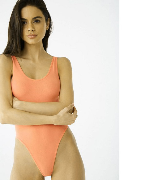 NU-Body suit Forever 21 hồng