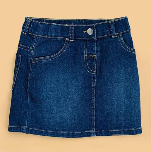 BG-Chân váy Jean Anko xanh đậm