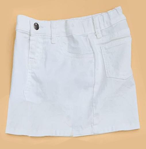 BG-Chân váy Jean Anko trắng
