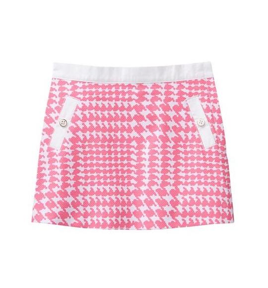 BG-Chân váy Jannie & Jack hồng hv