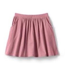 BG-Chân váy Lands End hồng
