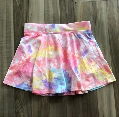 BG-Chân váy thun Place ombre hồng xanh