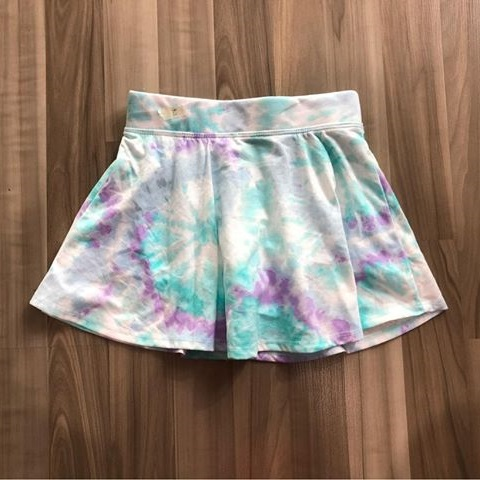 BG-Chân váy thun Place ombre xanh tím