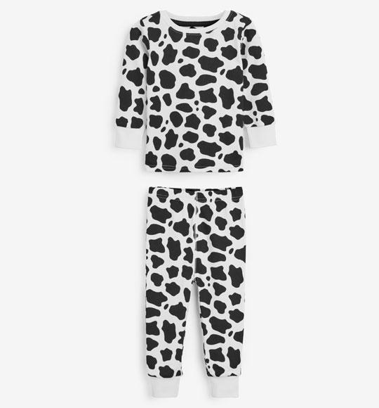 BT-Đồ bộ Sleapwear Next trắng đốm đen