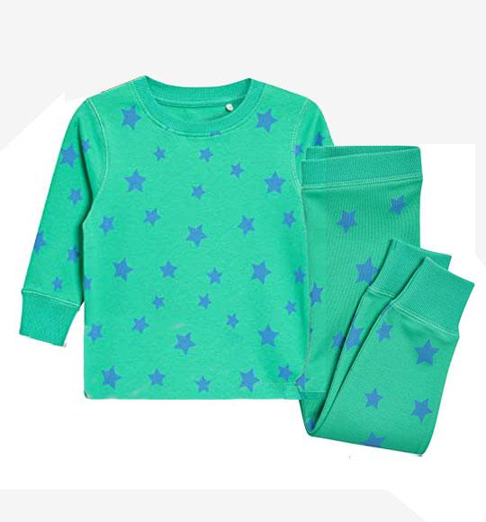 BG-Đồ bộ Sleapwear Next xanh ngôi sao