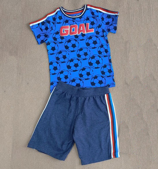 BT-Bộ Sleepwear TNQN Next xanh goal