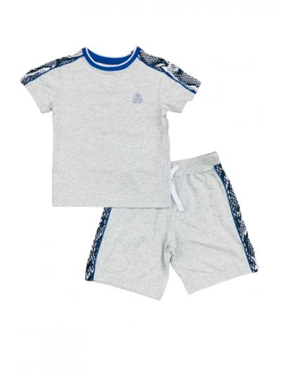 BT-Bộ Sleepwear TNQN Next xám viền trắng đen