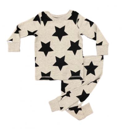 BT-Đồ bộ Sleapwear Next xám ngôi sao đen