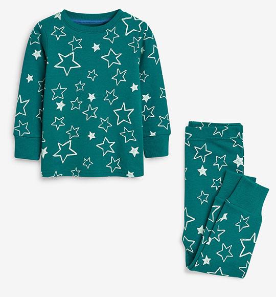 BT-Đồ bộ Sleapwear Next xanh lục ngôi sao