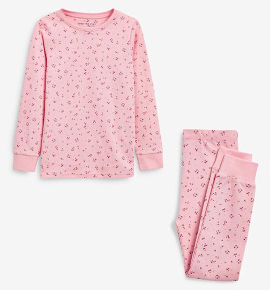 BG-Đồ bộ Sleapwear Next hồng hoa nhí