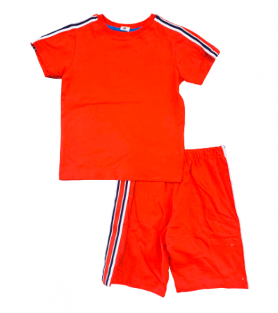 BT-Bộ Sleepwear TNQN Next đỏ viền trắng navy
