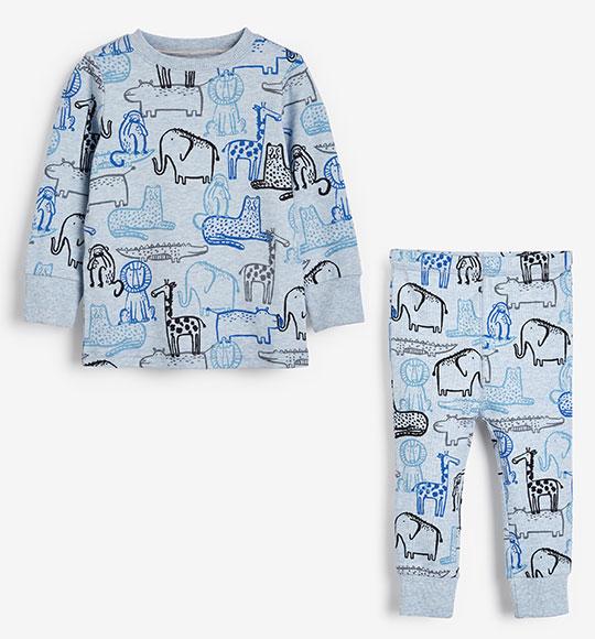 BT-Đồ bộ Sleapwear Next xanh hình thú