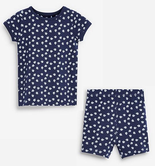 BG-Bộ Sleepwear TNQN Next navy hoa