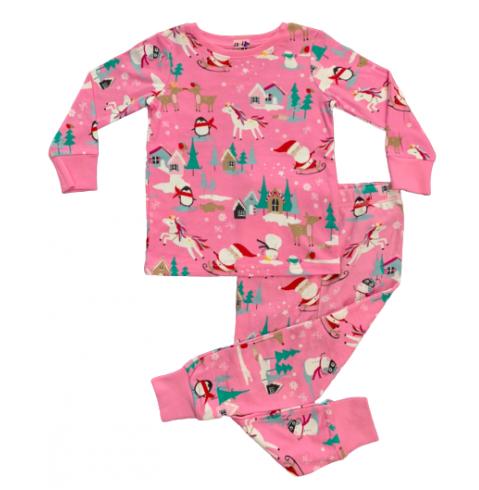 BG-Đồ bộ Sleapwear Next hồng noel