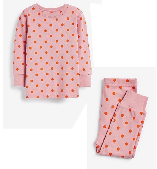 BG-Đồ bộ Sleapwear Next hồng bi cam