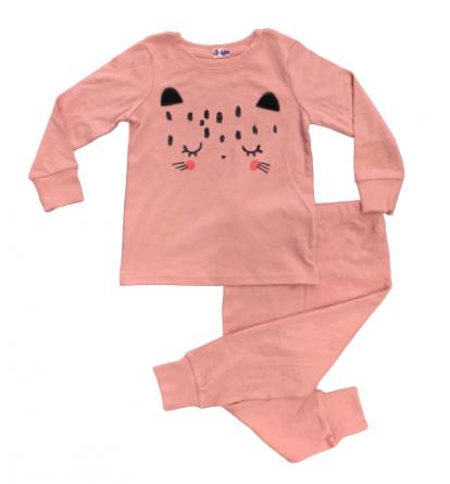 BG-Đồ bộ Sleapwear Next hồng đất mèo đen
