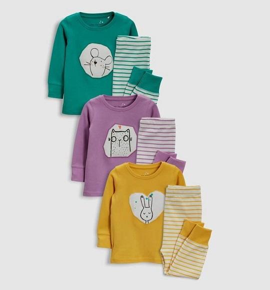 BG-Đồ bộ Sleapwear Next vàng thỏ