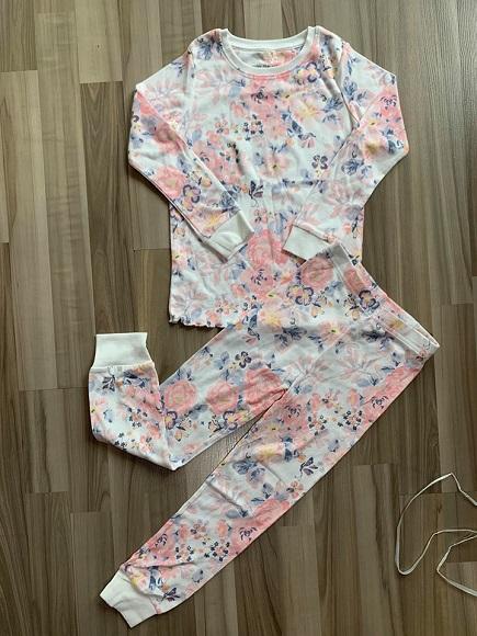 BG-Đồ bộ Sleapwear Next trắng hoa hồng