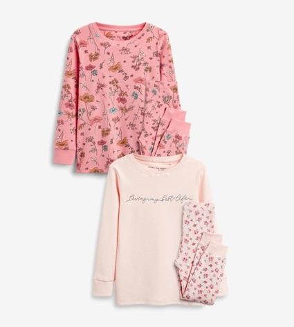 BG-Đồ bộ Sleapwear Next hồng đậm hoa