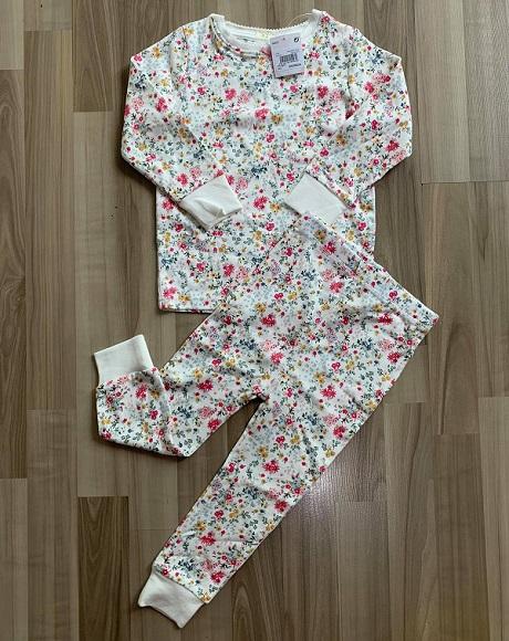 BG-Đồ bộ Sleapwear Next trắng hoa nhí
