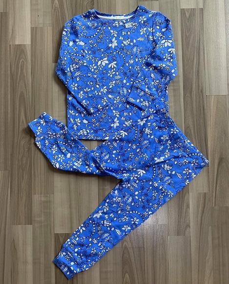 BG-Đồ bộ Sleapwear Next xanh dương hoa