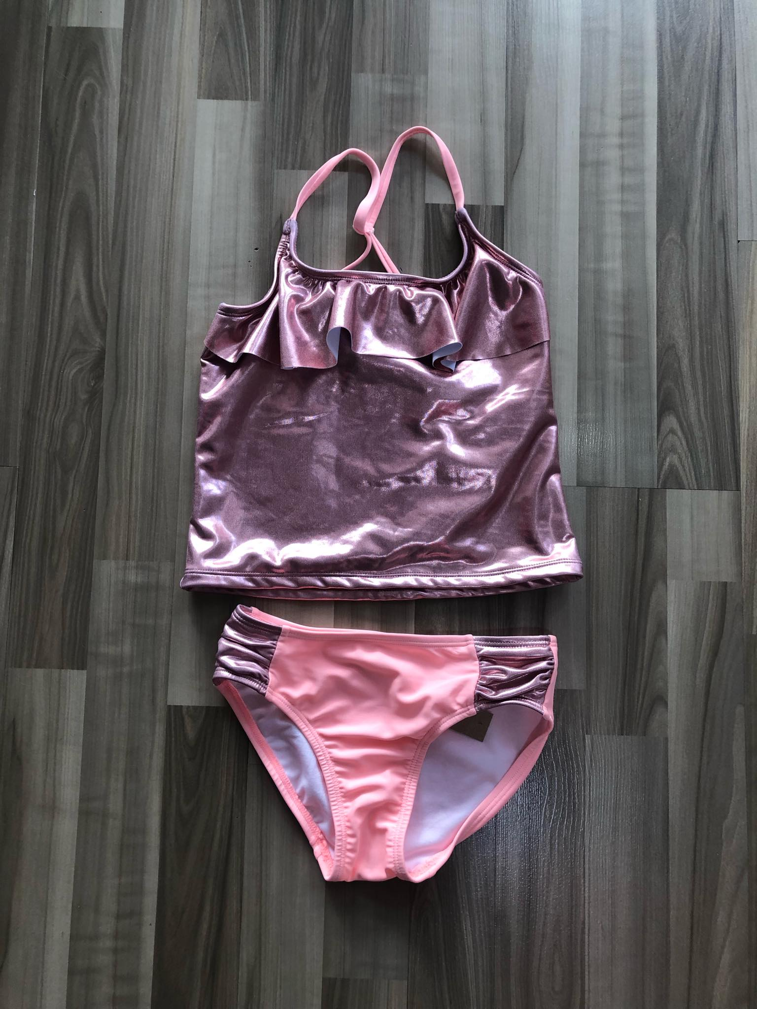 BG-Đồ bơi 2 mảnh hồng kim tuyến