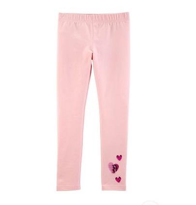 BG-Quần legging Carters hồng nhạt tim