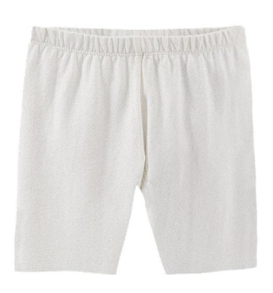 BG-Legging đùi Oshkosh trắng kim tuyến