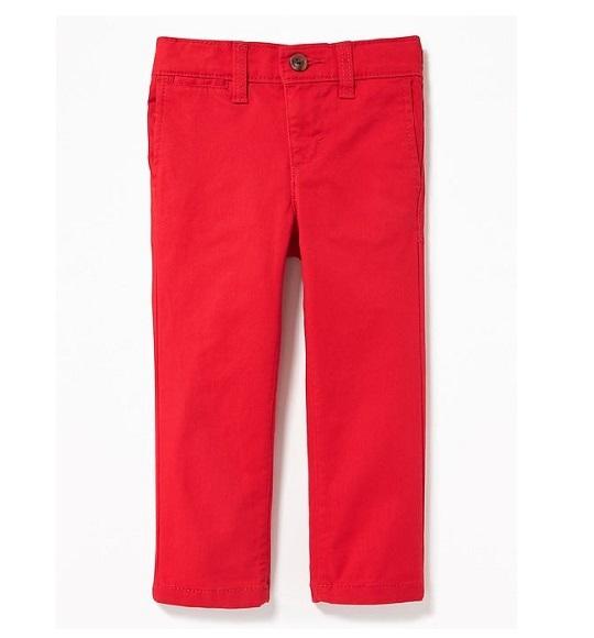BT-Quần khaki Old Navy đỏ