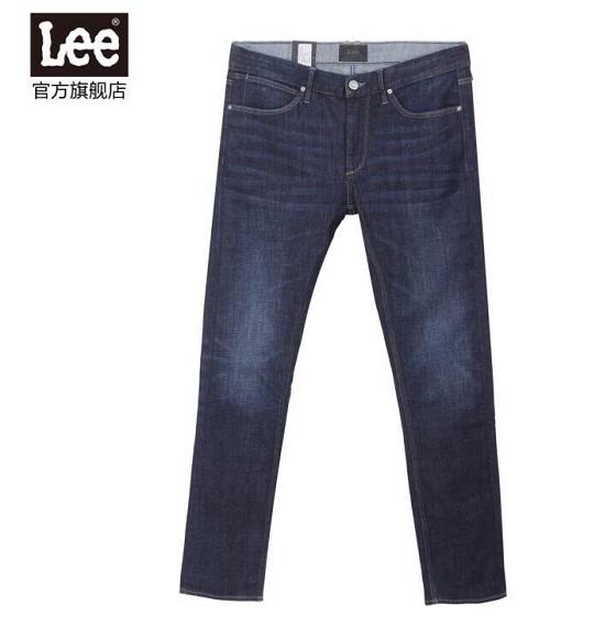 NAM-Quần Jean Lee xanh đậm