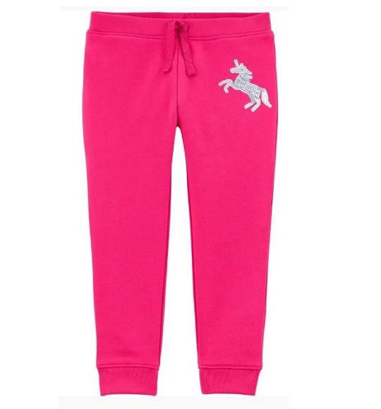 BG-Quần Jogger Carters hồng ngựa
