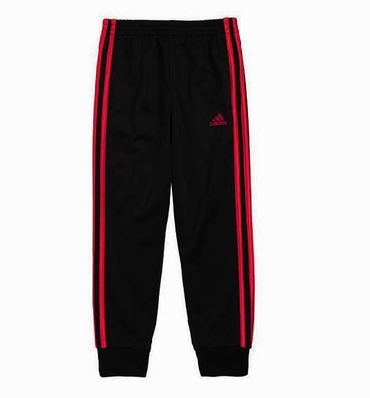 BT-Quần dài Adidas đen viền đỏ