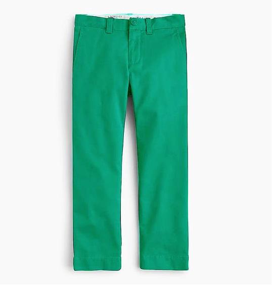 BT-Quần khaki  J.Crew xanh lá