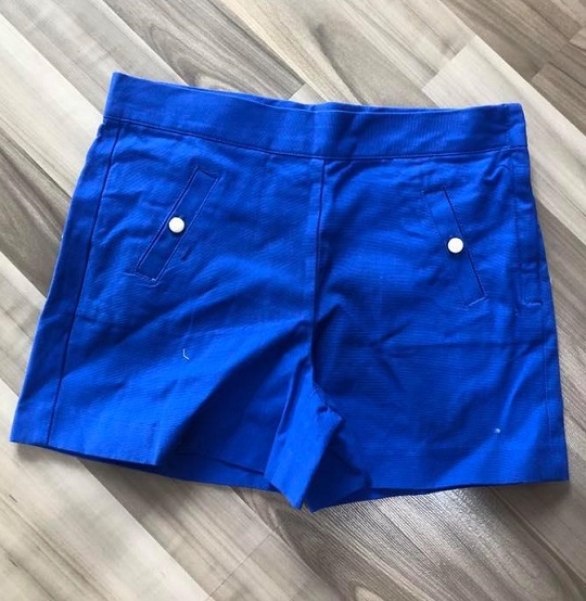 BG-Short Khaki Jannie & Jack xanh biển