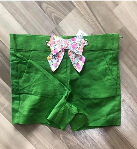 BG-Short Khaki Jannie & Jack xanh lá