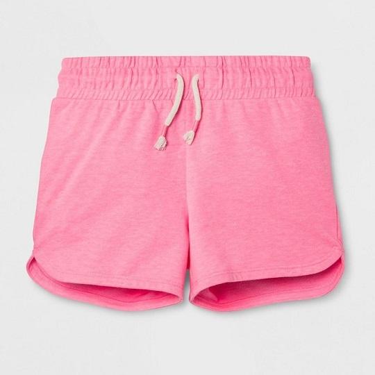 BG-Quần short thun da cá Cat & Jack cam hồng