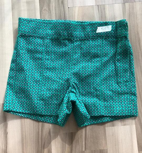 BG-Short Khaki Jannie & Jack xanh chấm