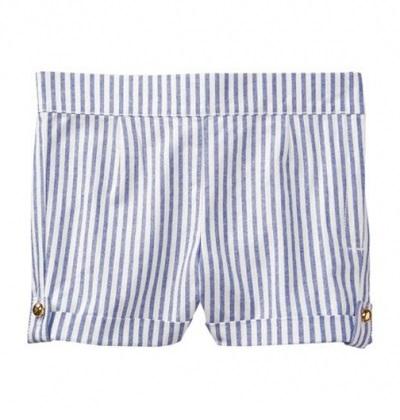 BG-Short Khaki Jannie & Jack trắng sọc xanh