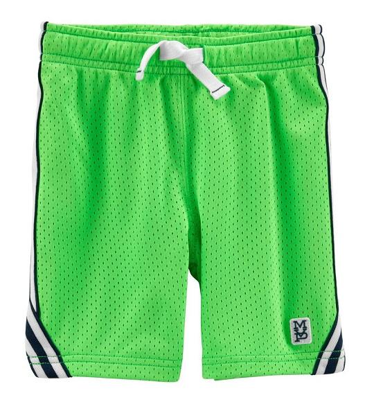 BT-Short thể thao Cart/Osh xanh lá viền navy trắng
