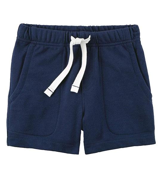 BT-Short da cá Carters xanh đen