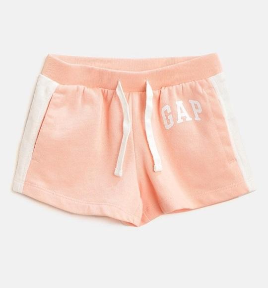 BG-Quần short Gap hồng viền trắng