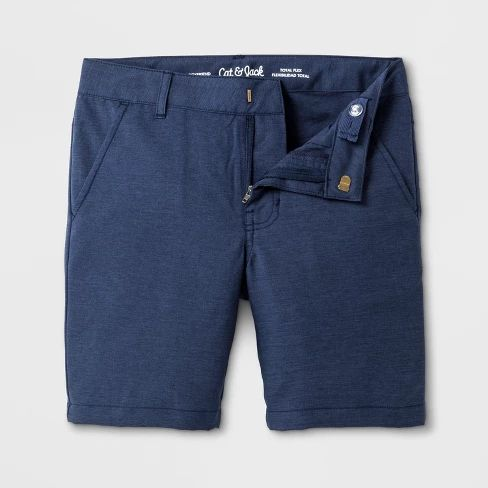 BT-Short khaki Cat & Jack xám đậm