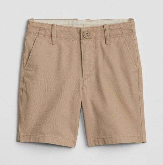BT-Short khaki Baby Gap kem