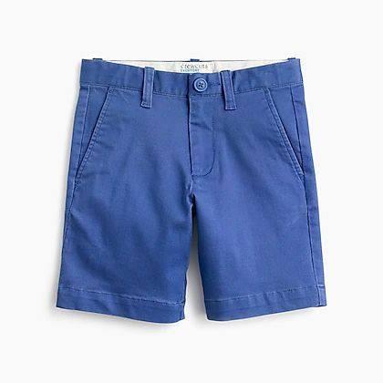 BT-Quần short khaki J.Crew xanh dương