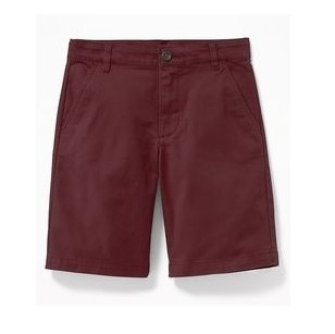 BT-Short Khaki Old Navy đỏ đô