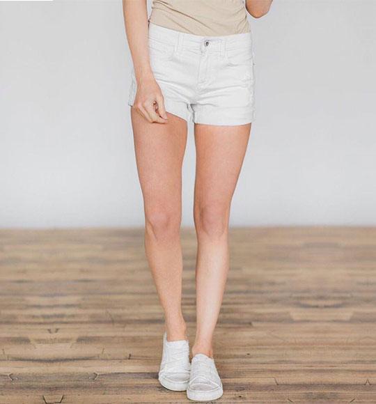 NU-Short Sneak Peek trắng